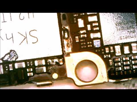 Find Short Circuit quickly With Flir Thermal Camera - iPhone 6 no power Repair
