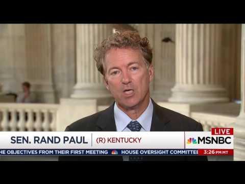 Sen. Rand Paul on the Senate Health Care Draft - June 22, 2017