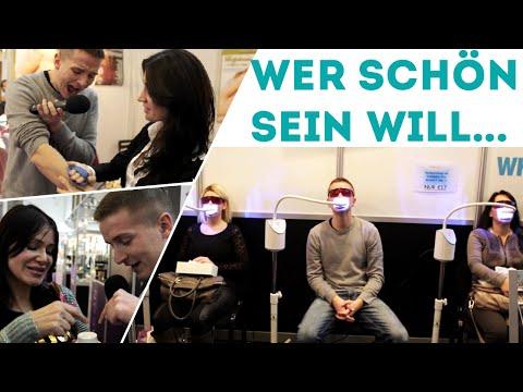 Verarschen, nerven und rasieren auf der Cosmetica Berlin