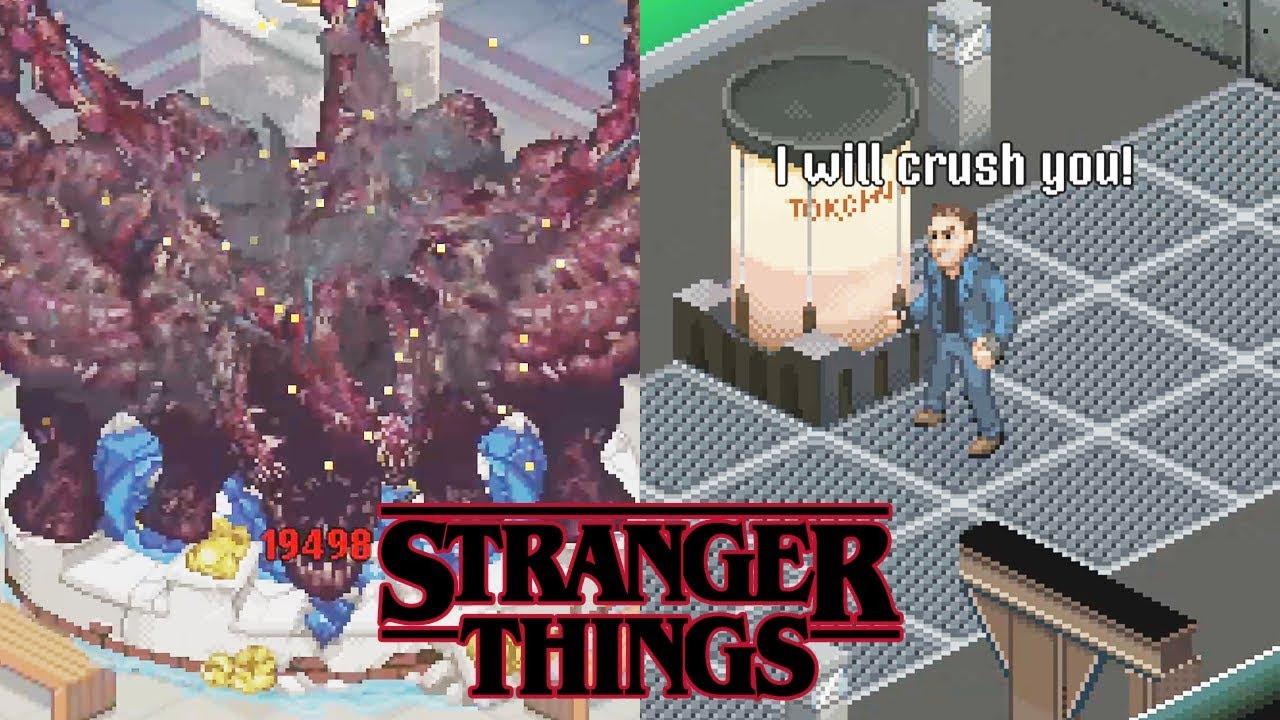 STRANGER THINGS 3 Final Boss & Ending