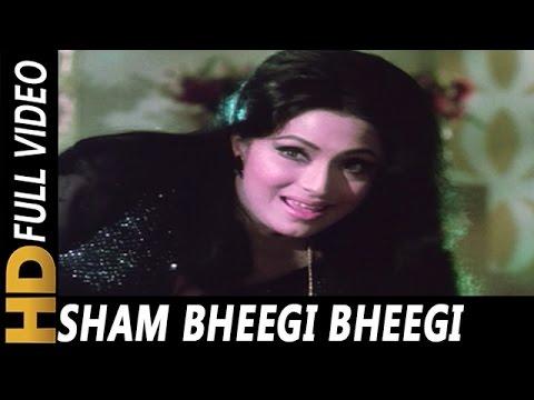 Sham Bheegi Bheegi   Asha Bhosle   Gehri Chaal 1973   Amitabh Bachchan, Jeetendra, Hema Malini