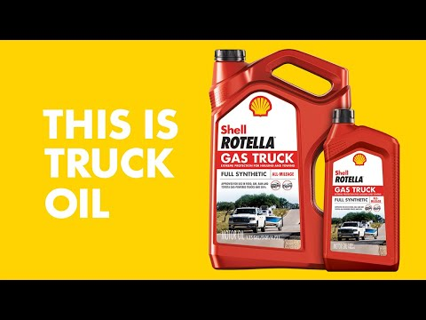 This is Truck Oil