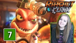 GASPAR   Ratchet and Clank PS4 Gameplay Walkthrough Part 7