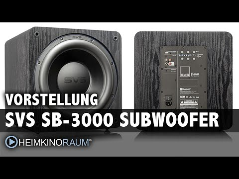 Vorstellung: SVS SB-3000 Subwoofer mit App-Steuerung