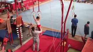 Первый юношеский разряд. Открытый чемпионат Черкасской области по спортивной гимнастике.