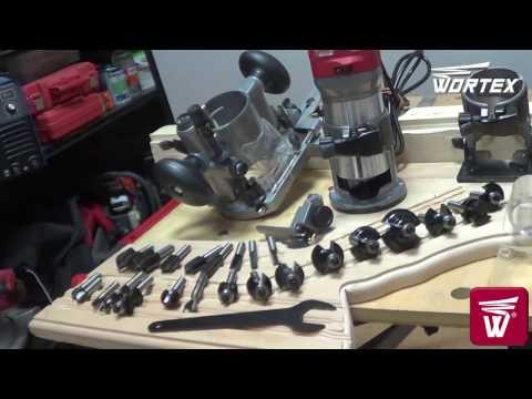 Кромочный фрезер WORTEX MM 5013-1E.  Презентация