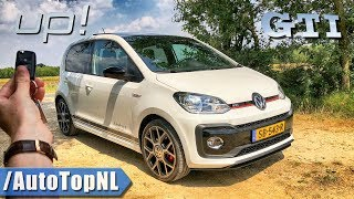 VW UP GTI REVIEW POV Test Drive by AutoTopNL