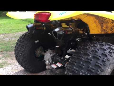 Turbocharged Suzuki Ozark 250 Pt 1 YouTube