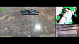 Autonomous Exploration of a Drone (quad rotor) using The Monocular ORB SLAM