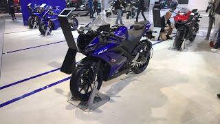 2018 Yamaha R15 version 3.0 At Auto Expo 2018