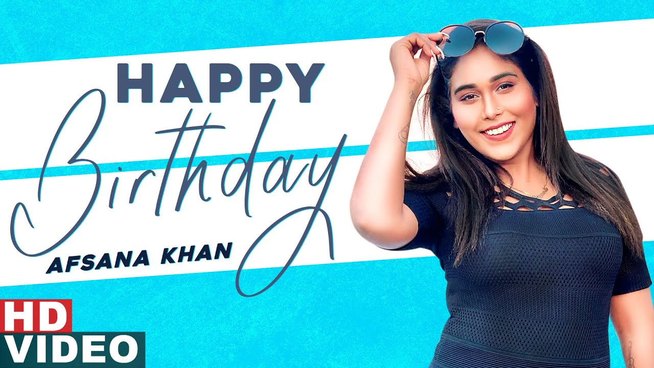 Birthday Wish | Afsana Khan | Kuch Bol Ve | Birthday Special | Speed Records