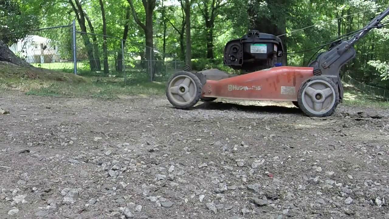 Sprucing up a Husqvarna AWD push mower by Ellis Mowers