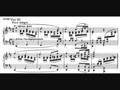 Brahms - Variations on a Theme of Robert Schumann, Op. 9 - Katchen