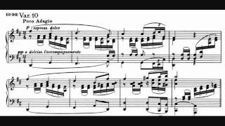 Brahms - Variations on a Theme of Robert Schumann, Op. 9 - Katchen