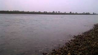 waqas chaudhry swimming in pakhwal river jhelum1