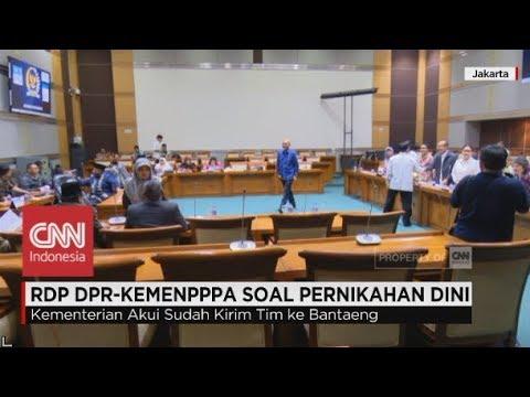 RDP DPR-Kemenpppa Soal Pernikahan Dini