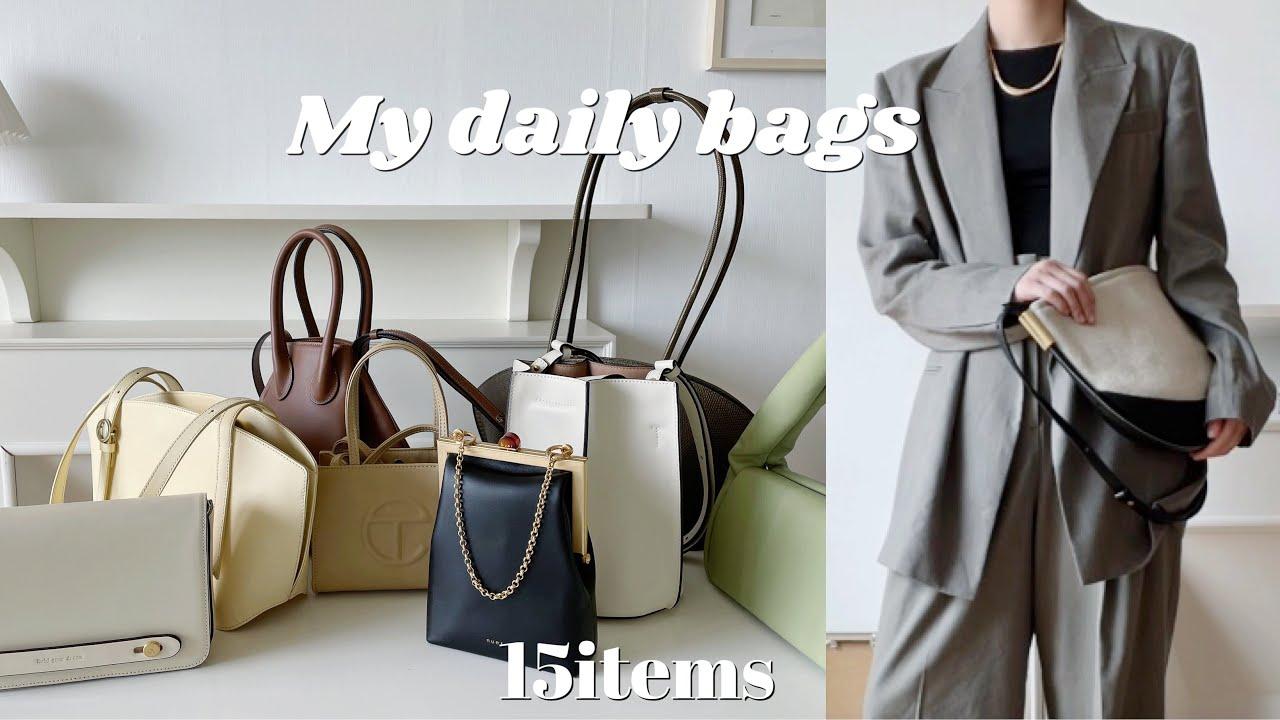 2만원~30만원대 데일리백 추천 / 내가 드는 데일리백 15가지 /my daily bag 👜