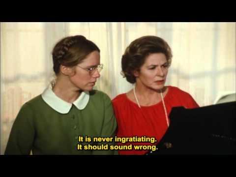 Autumn Sonata Hostsonaten 1978  Ingrid Bergman, Liv Ullmann & Halvar Björk