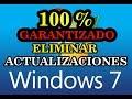 COMO ELIMINAR LAS ACTUALIZACIONES DE WINDOWS 7 PARA SIEMPRE 100 % GARANTIZADO