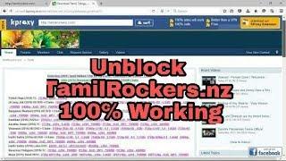 How to Unblock Tamilrockers Website October 2017   100% Working