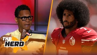 Did Mike Vick need to apologize to Colin Kaepernick over hair comments? Eric Davis reacts | THE HERD