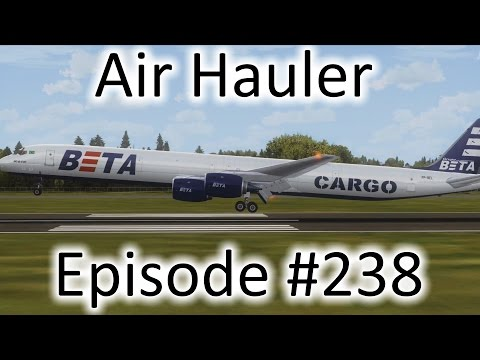 FSX | Air Hauler Ep. #238 - Midland to Augusta | DC-8-73F