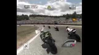 SBK-09: Superbike World Championship gameplay (Old Video)