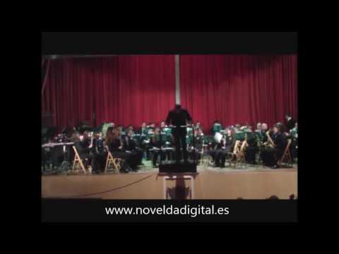 Concierto de Santa Cecilia de la Unión Musical La Artística.Novelda Digital