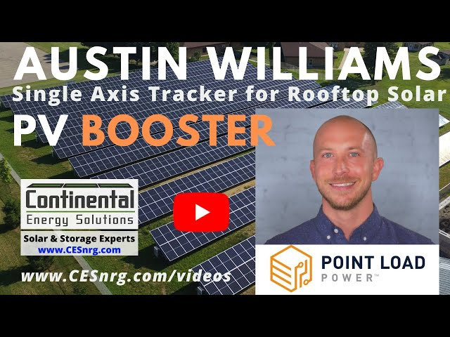 Austin Williams, Point Load Power | Rooftop Solar Tracker: PV Booster