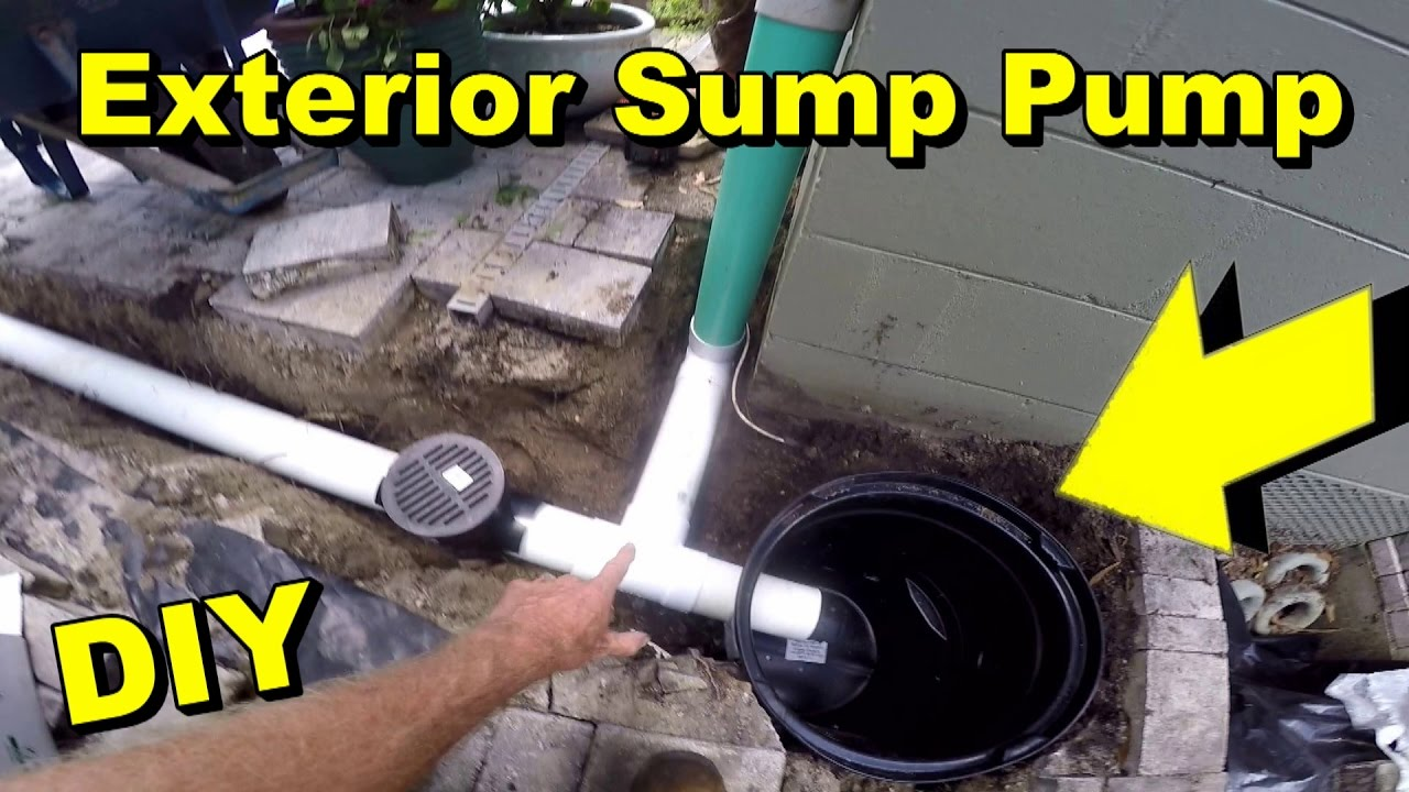 Charmant Backyard Sump Pump, Orlando Fl, Crawl Space, Pool Patio Drain, DIY   YouTube