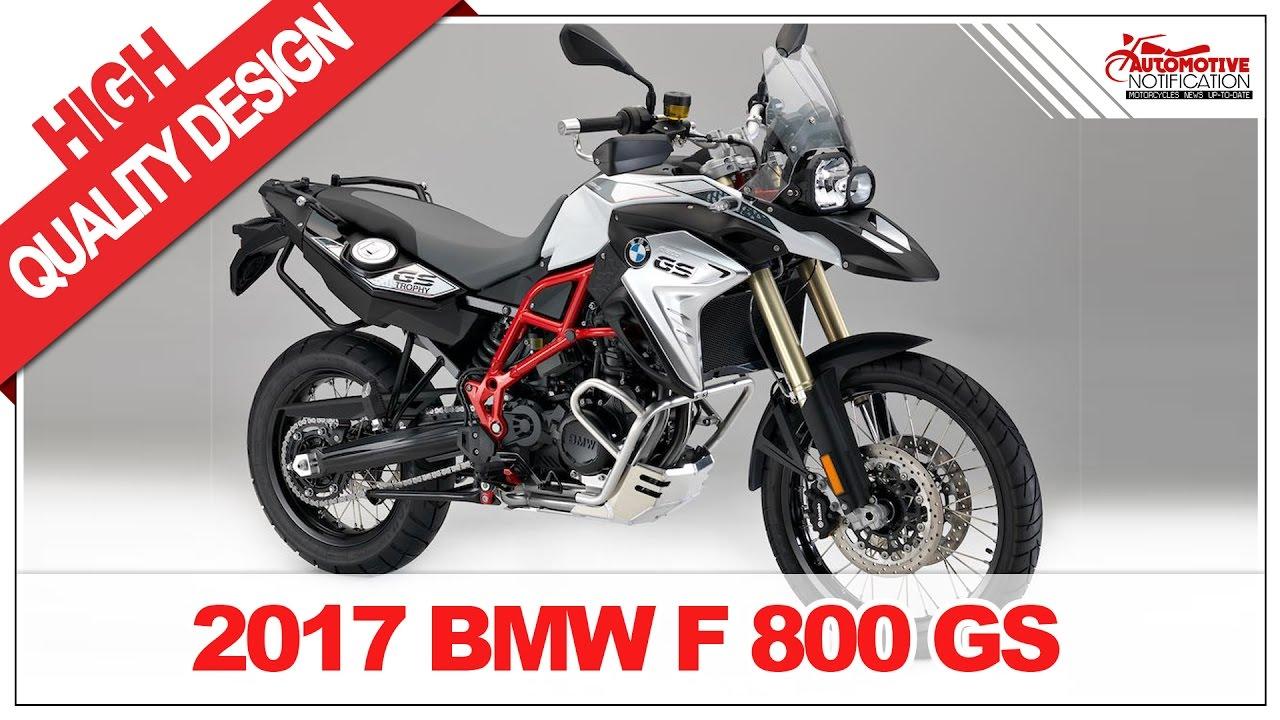 2017 Bmw F800gs Price Spec Youtube