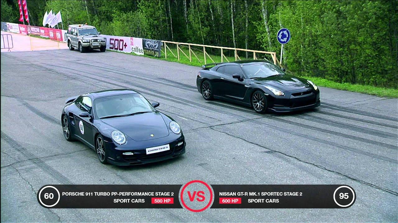 Porsche 911 Turbo Vs Nissan Gt R Battle Doovi