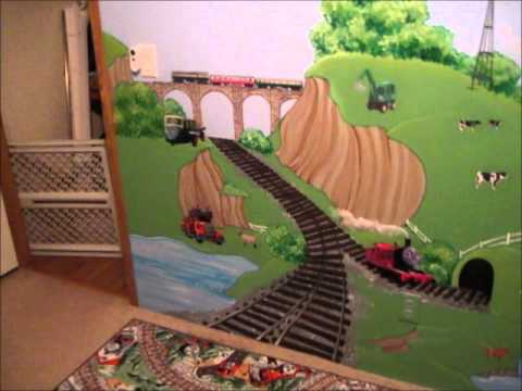 Thomas The Tank Engine Mural By:Ariane Ou0027Pry