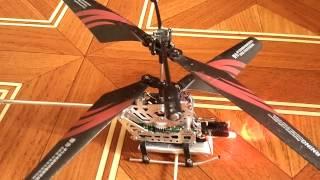 Вертолёт на радиоуправлении с увеличенной батареей