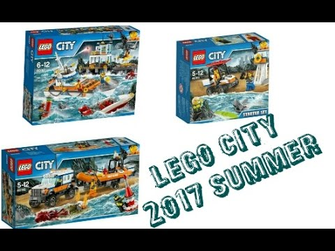 LEGO News: LEGO CITY Coast Guards 2017 Summer Sets Official Pictures ...