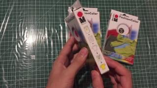 видео Как окрашивать ткань краской DYLON.
