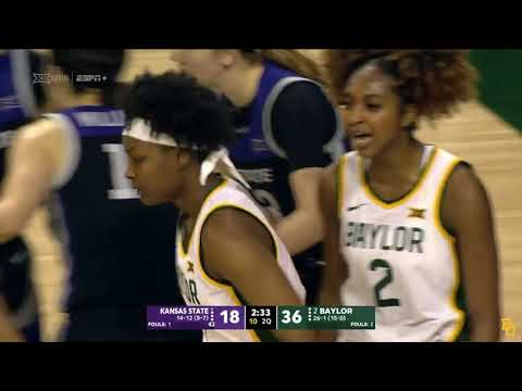 Baylor Basketball (W): Highlights Vs. Kansas State