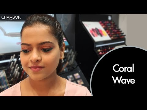 Chambor's Coral Wave Look | Makeup Tutorial