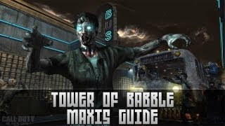 Tower Of Babble Maxis Easter Egg - Black Ops 2 Zombies Tranzit Easy Achievement Guide