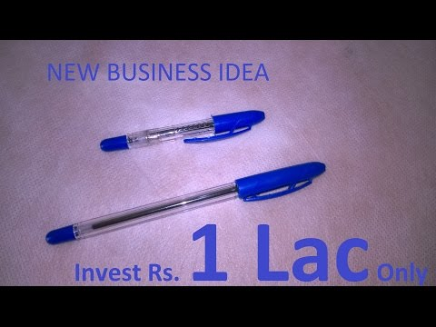 Small Scale Business Idea for Manufacturing a Mini Ball Pen for investment of Rs 1 Lac in Tamil