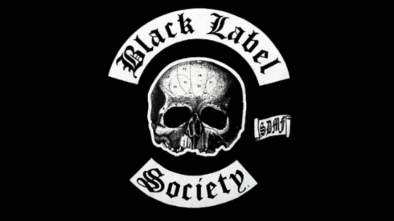 It is a graphic of Agile Black Label Society in This River Official Music Video