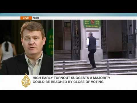 Italians vote in crucial referendums