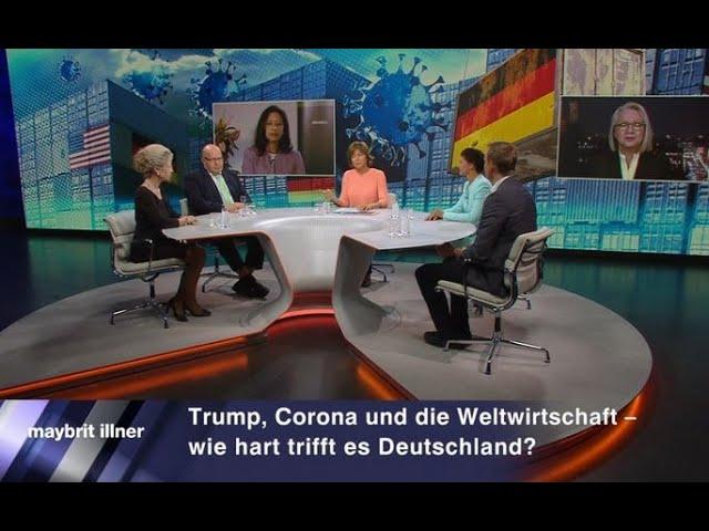 MEIST GESEHEN - Maybri Illner : Trump, Corona & die Weltwirtschaft – wie hart trifft es Deutschland?