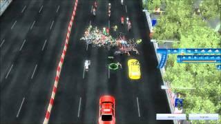 pcm 2011 champs elysées big crash