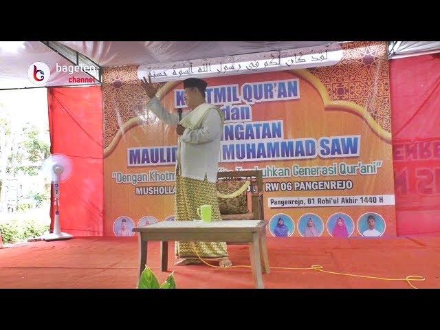 Khotmil Qur'an dan Peringatan Maulid Nabi Muhammad SAW Mushola Nurul Huda Pangenrejo #Part3