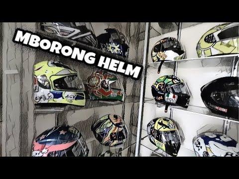 Memborong Banyak Helm Di Dunia Helm Jogja!!!