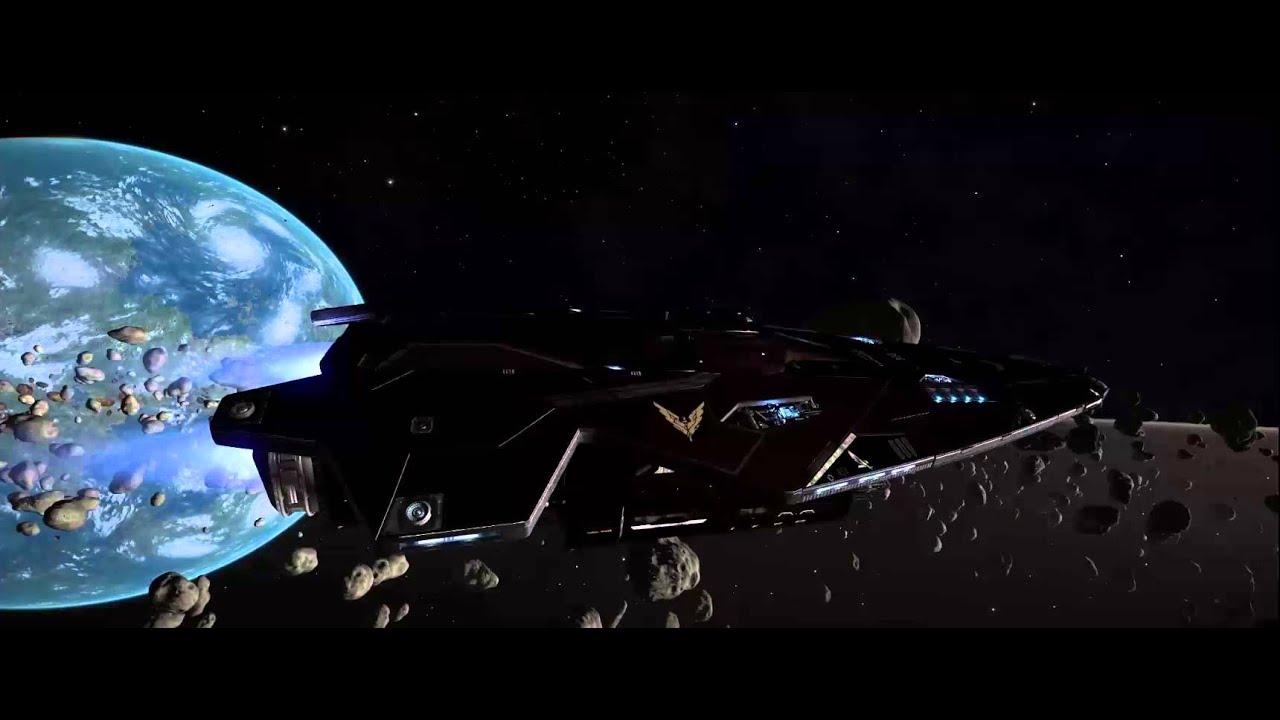 Star trek voyager spacecraft - Elite Dangerous Star Trek Voyager Intro