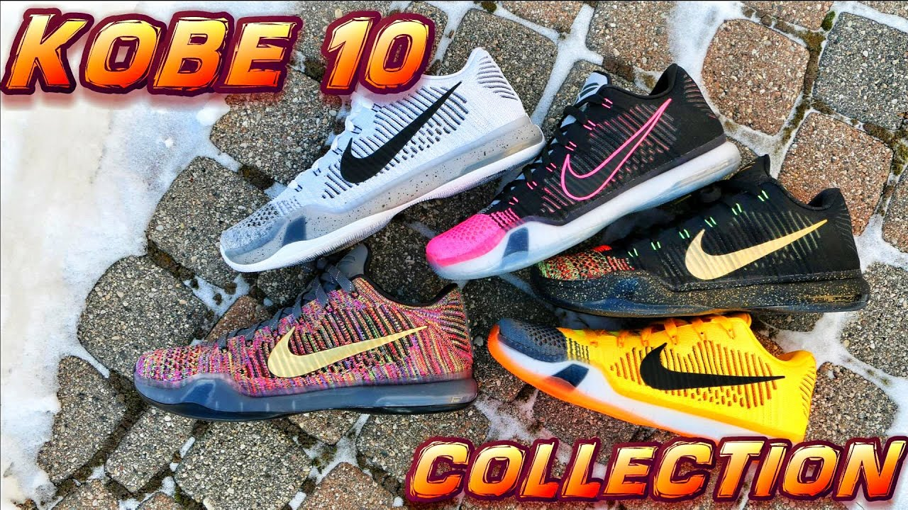 0624584d279b NIKE KOBE 10 COLLECTION - YouTube