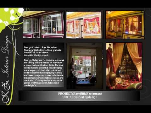 interior design portfolio youtube