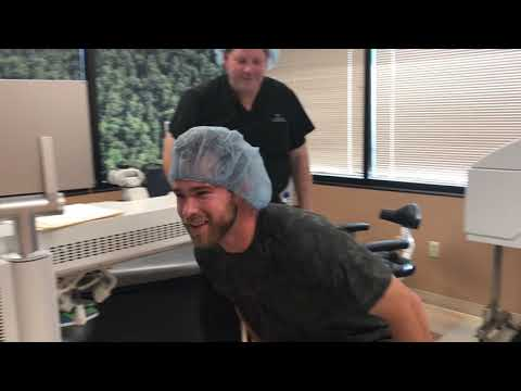 Luke Bonfield, Former Arkansas Razorback- Now Pro Baseball Player, LASIK Procedure Day